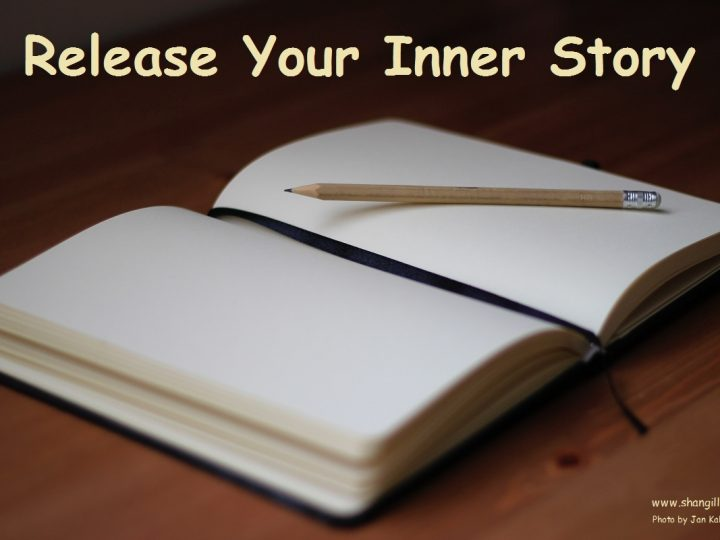 Release Your Inner Story;  Step One in Writing Your Book